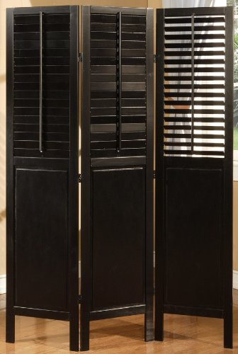 Amazoncom Legacy Decor 3 Panel Solid Wood Screen Room Dividers