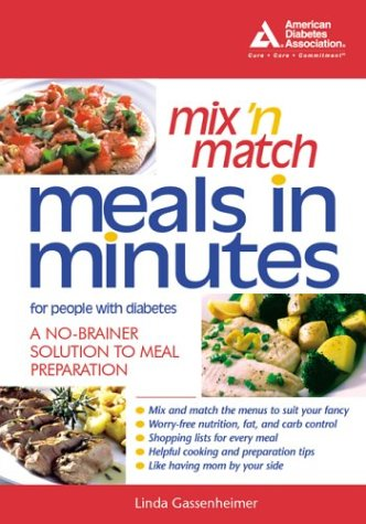 Download Mix 'n Match Meals in Minutes for People with Diabetes PDF