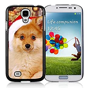 Provide Personalized Customized Samsung S4 TPU Protective Skin Cover Christmas Dog Black Samsung Galaxy S4 i9500 Case 41