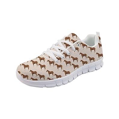5b417cbd1f4a2 Showudesigns Women's Fasahion Sneaker Girls Running Sport Shoes Animal  Design