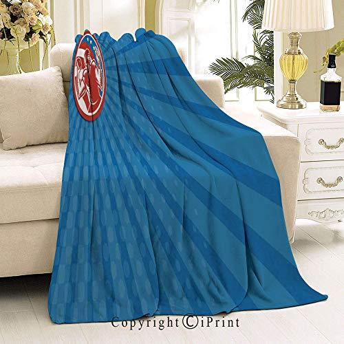 Soft Flannel Fleece All Season Blanket,Anti-Pilling,Suitable for Many Seasons,32