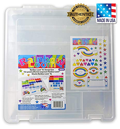 Rainbow Loom Large Organizer Case - Does Not Include Rubber Bands or Loom.