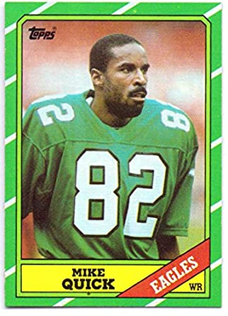 official photos 1fd71 25b9f Mike Quick 1986 Topps #271 - Philadelphia Eagles at Amazon's ...
