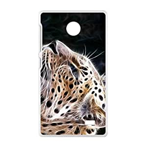 BYEB Abstract Leopard Custom Protective Hard Phone Cae For Nokia Lumia X