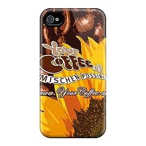 New Arrival Yourcoffee YrlVKoE1886ITKKp Case Cover/ 4/4s Iphone Case