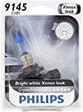 Philips 9145 CrystalVision ultra Upgrade Replacement Fog Bulb, 1 Pack