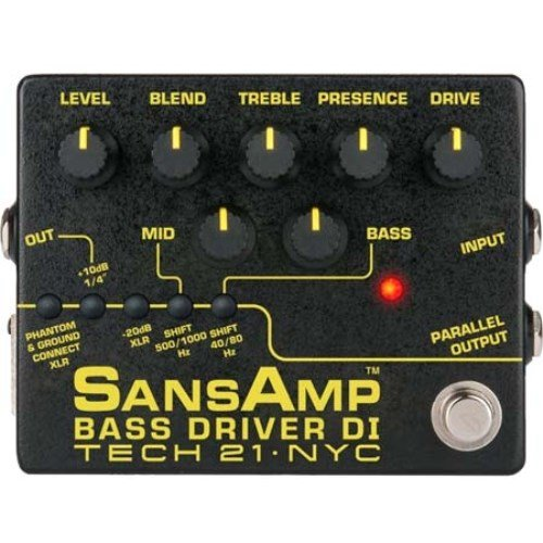 Tech 21 SansAmp Bass Driver DI V2 from tech21