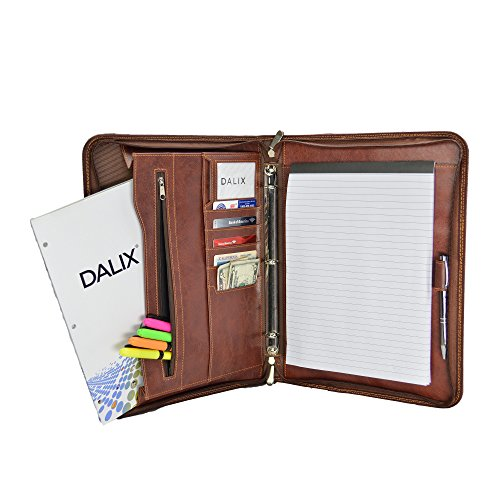 DALIX Professional Portfolio Briefcase Organizer