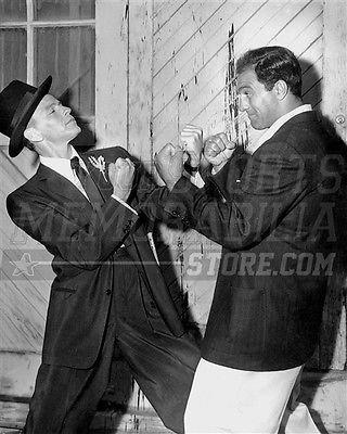 Frank Sinatra Rocky Marciano boxing stance 8x10 11x14 16x20 photo 747 - Size 11x14