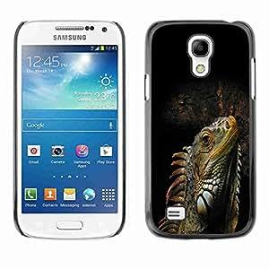 Planetar® ( Cool Iguana Lizard Reptile ) Fundas Cover Cubre Hard Case Cover Samsung Galaxy S4 MINI / i9190 / i9192