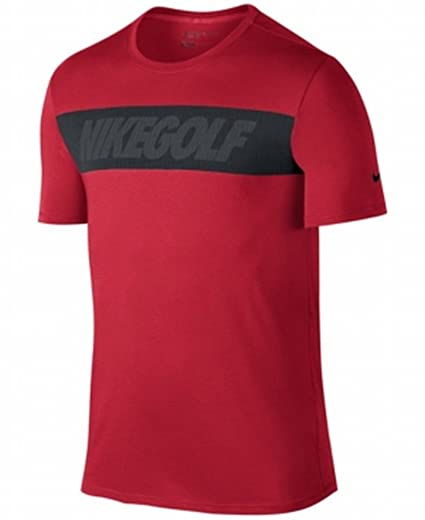 2c6ce5e2c Amazon.com : Nike Men's Graphic Golf T-Shirt (University Red) S ...
