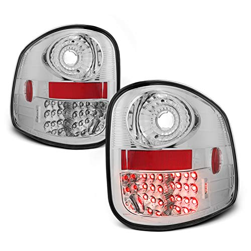 - For 2001-2003 F150 | 2004 F-150 Heritage Pickup Truck Flareside Bed Type Lumiled LED Chrome Tail Lights Lamps Pair