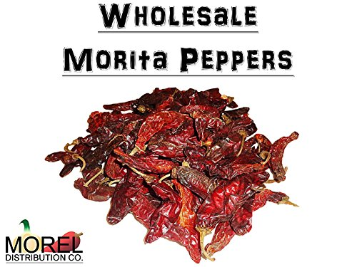 Dried Chile Morita Peppers //Chipotle// Bulk Weights: 2 Lbs, 5 Lbs, and 10 Lbs!! (5 LBS)