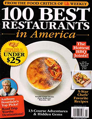 From The Food Critics Of Us Weekly 100 Best Restaurants In