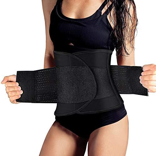 SZ-Climax Lumbar Support Belt - Back Brace Support Belt Waist Trainer Trimmer Cincher Sweat Belt Postpartum Recovery Body Shaper for Weight Loss, Lower Back Pain for Women Men