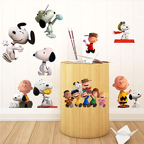 Baby Snooby Dog Nurserys Peal and Stick Wall Decals Stickers Kids GADFLY Snooby Dog Children Snooby Dog Nursery/'s Peal and Stick Wall Decals Stickers