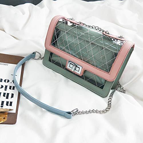a nera a WSLMHH Borsa tracolla tracolla borsa piccola moda nera rosa selvaggia estate quadrata bambina OtxgfAxq