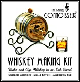 Personalized Barrel Connoisseur Whiskey Making Kit (2 Liter)