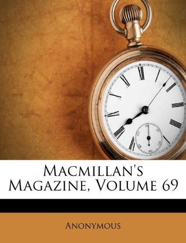 Macmillan's Magazine, Volume 69 pdf