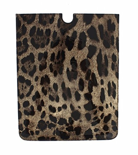 Gabbana Leopard - Dolce & Gabbana - Leopard Leather iPAD P2 Tablet eBook Cover
