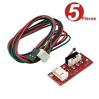 10PCS 3D Printer Mech Endstop Switch For RepRap Makerbot Prusa Mendel RAMPS1.4 A