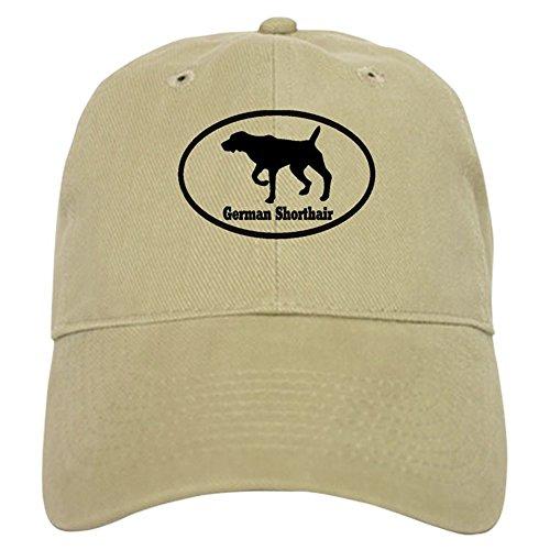 - CafePress German Shorthaired Pointer Baseball Cap with Adjustable Closure, Unique Printed Baseball Hat Khaki