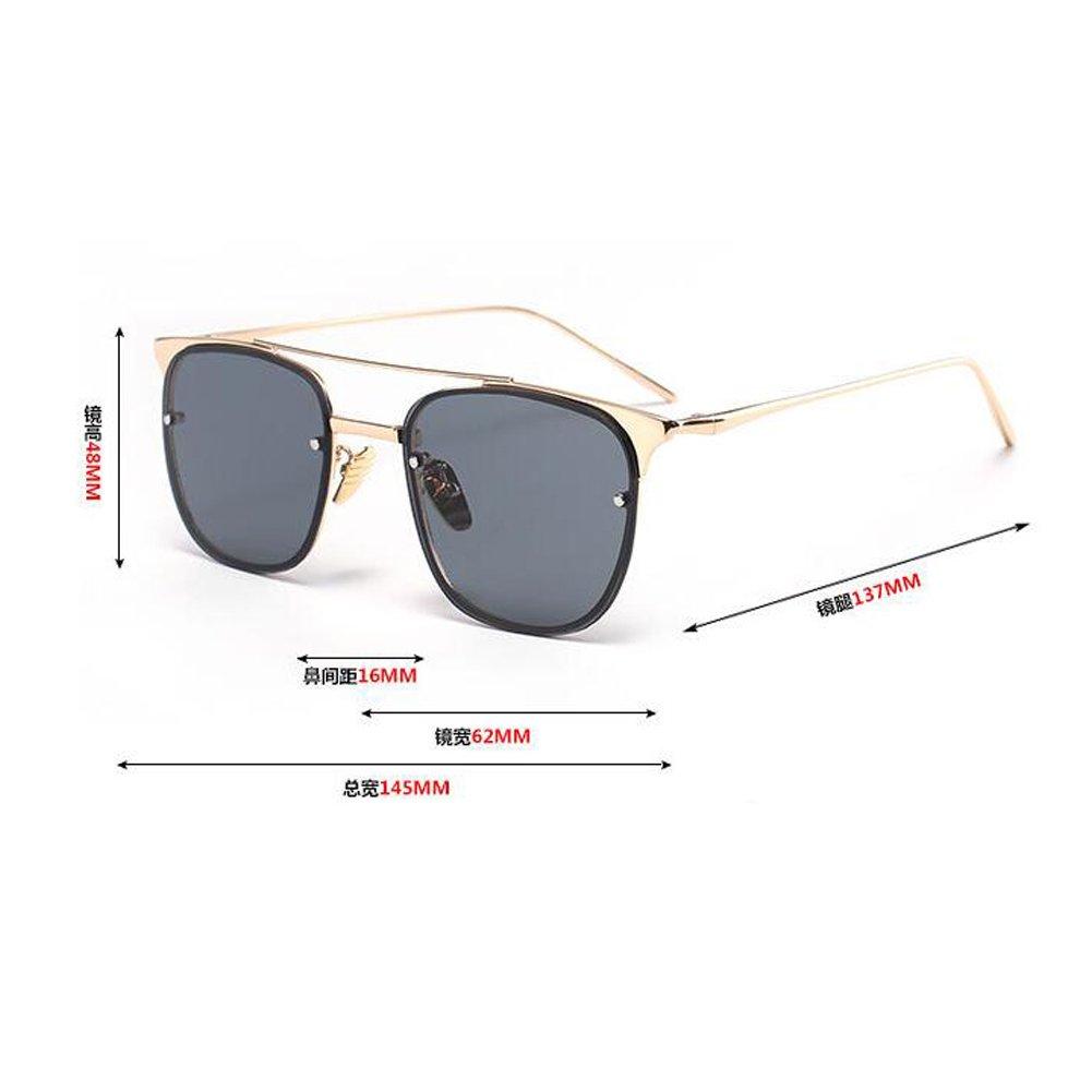 Meijunter Summer Men Women Metal Frame Square Mirror Sunglasses Beach Unisex Lunettes de soleil Eyewear UV400 jqas78f0hp