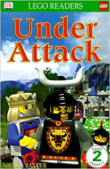 Amazon Com Castle Under Attack Dk Lego Readers Level 2