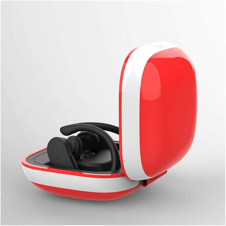 YINJIESHANGMAO Headphone Protector Powerbeats Pro Protective Cover Tempo Package Pro Bluetooth Headset Shell Storage Bag Box Charging Silicone Sleeve Color : B