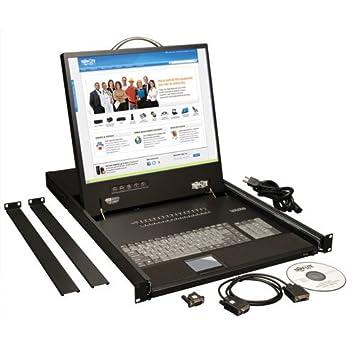 IEC 60950-1 Consola de rack USA Canada 1366 x 768 Pixeles LCD UL 60950-1 TUV con LCD de 19 19 con LCD de 19, 48,3 cm , CE Tripp Lite KVM de Consola NetController de 16 puertos de 1U para Instalar en Rack UL FCC Part 15 Class A CAN//CSA