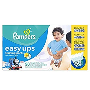Ratings and reviews for Pampers Easy Up sz 5 3T/4T, 90 ct (Old Version)