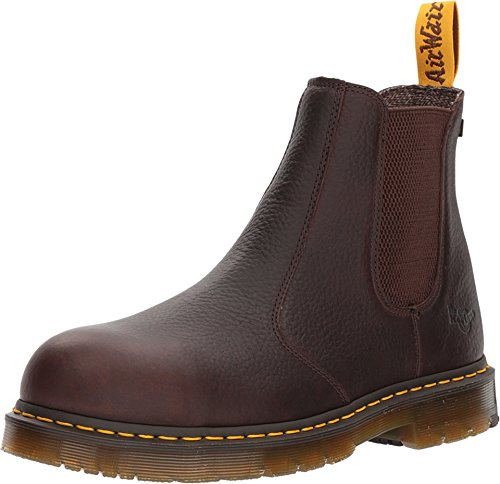 (Dr. Martens Work Men's Fellside Steel Toe SD Chelsea Bark 7 D UK)
