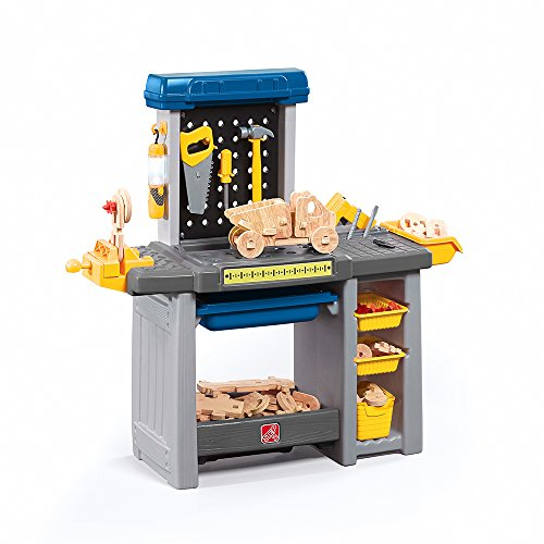 2 Station Workbench - Step2 Handyman Kids Toolbench, Blue