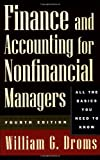 Finance and Accounting for Nonfinancial Managers, William Droms, 0201311399