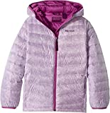 Marmot Kids Girl's Nika Hoodie (Little Kids/Big Kids) Purple Orchid Prism X-Large
