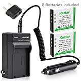 Kastar Battery (2-Pack) and Charger Kit for Fujifilm NP-50, Kodak KLIC-7004, Pentax D-Li68 work with Fujifilm FinePix F50FD,F60FD,F70EXR,F75EXR,F80EXR,F85EXR,F100FD,F200EXR,F300EXR,F305EXR,F500EXR,F505EXR,F550EXR,F600EXR,F605EXR,F660EXR,F665EXR,F750EXR,F770EXR,F775EXR,F800EXR,F850EXR,F900EXR,REAL 3D W3,X10,X20,XF1,XP100,XP110,XP150,XP160,XP170,XP200,BC-50,BC-45W and Kodak EasyShare M1033,M1093,M2008,PlayFull Dual,PlaySport,PlayTouch,V1073,V1273,V1233,V1253,Zi8,Zx3,Zi12 Cameras