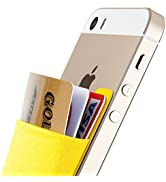 Sinjimoru Card Holder, Stick-on Wallet Functioning as iPhone Wallet Case, iPhone case with a Card...