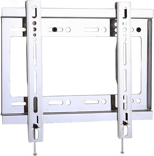 PIAOLING Soporte de TV Acero Inoxidable LCD TV Rack Montaje en ...