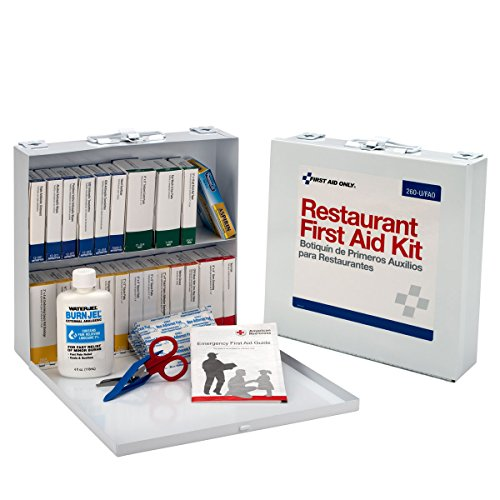 First Aid Only, 2 Shelf, Restaurant First Aid Kit, 171-Piece Kit