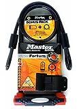Master Lock Verrou Lock Street Fortum Gold Sold Secure D 280 x 110 mm avec câble de 1200 x 10 mm