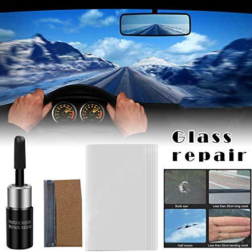 Harwls Car Windshield Windscreen Glass Repair Resin Kit de reparaci/ón de Coche