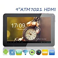 Goldengulf 9 Inch ATM7021 Android 4.2 HDMI Dual Core Camera 8GB Touch Screen Tablet PC G sensor WIFI