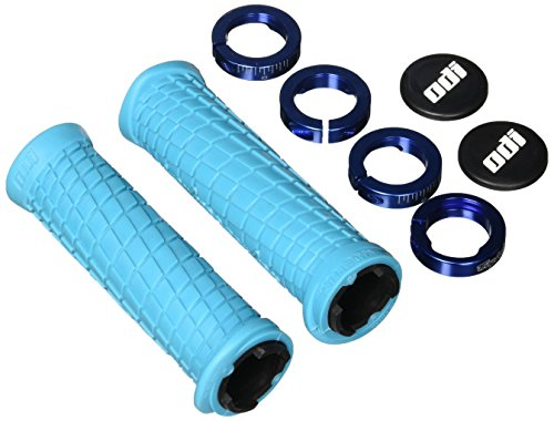 Where to find odi lock on grips mtb blue?