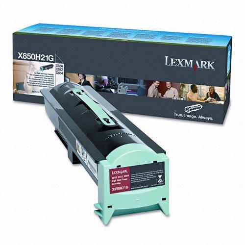 (Lexmark International LEXX850H21G Toner Cartridge- for X850e-X852e-X851e- 30000 Page Yield- Black)