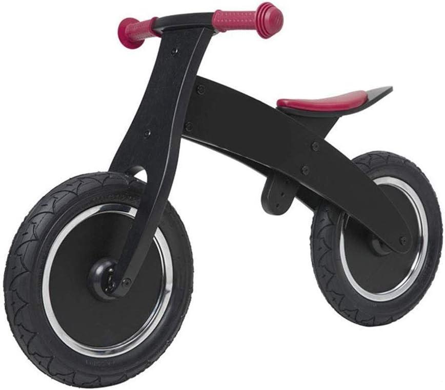 ZLXLX Bicicleta de equilibrio de coche de entrenamiento para edades de 1 a 5 años Niños Niñas, Marco de acero al carbono Sin pedal Bicicleta de entrenamiento de bicicleta de equilibrio para niños, Ne
