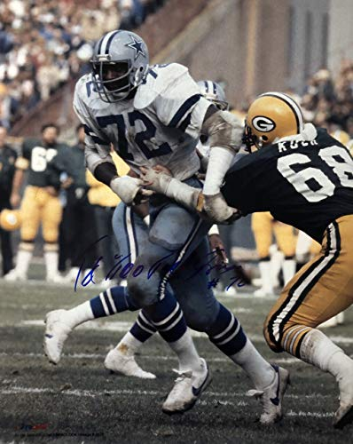 Ed 'Too Tall' Jones Dallas Cowboys 16-1 16x20 Autographed Photo - Certified Authentic ()