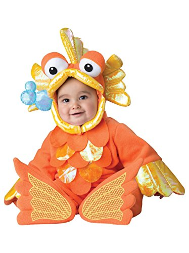 InCharacter Costumes Baby's Giggly Goldfish Costume, Orange, Small -