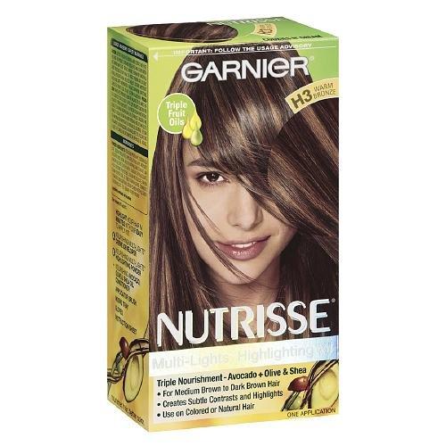 Cuivre chaud Crème Garnier Nutrisse permanent Couleur de cheveux H3, 1 ch