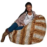 Amazon.com  Grey Fluffy Bean Bag Filled with Ultimax Beans Which ... ffcaaf3731e9d