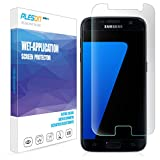 Galaxy S7 Screen Protector, PLESON [Full Coverage][Case Friendly][No Lifting Edges] Samsung Galaxy S7 Screen Protector Wet Applied Bubble-Free / HD Clear Film Screen Protector for Galaxy S7